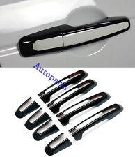 Gloss Black door handle Cover trim set For land Range Rover Evoque 2011+