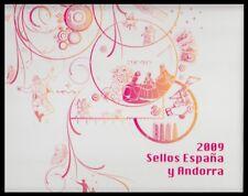 Libro Album Oficial de Sellos España y Andorra 2009