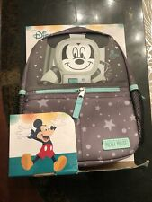 Nip Disney Baby Mickey Mouse Mini Backpack Safety Harness Straps Space Theme