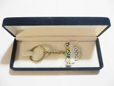 London 2012 Olympic Games Paris 2012 Candidate City ORIGINAL Keyring with case!!