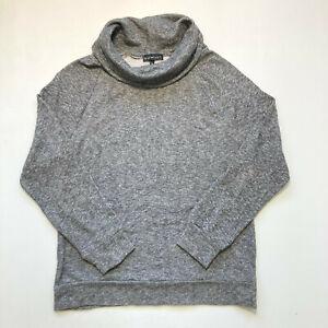 Derek Heart Cowl Neck Ladies Sweatshirt Long Sleeve Pullover Jumper Size L