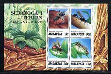 Malaysia 441a, MNH,  Insects Ampulex compressa 1991. x18580