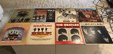 Vintage BEATLES Vinyl Record Lot: Sargent Peppers Hard Days Night Help Revolver