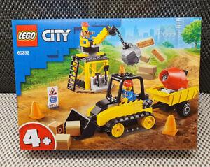 Lego City Ref: 60252 Vehicles Gear Construction Bulldozer New IN Box