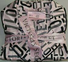 Neu Victoria's Secret 2 PC Afterhours Seidiges Satin Pyjama Love Rosa Schwarz S