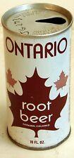Ontario Root Beer; Refreshment Enterprises; Gretna, LA; 10oz. steel soda pop can