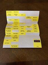 100% Original  Kenner Star Wars Carrying Case Sticker Label Sheets - used