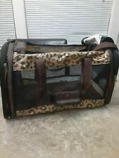 Travel bag animal Pet Carrier cat ,dog  Leopard Print