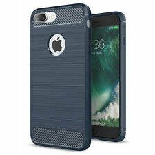 coque housse étui  iPhone 5/5S en silicone bleu effet métal brossé et carbone