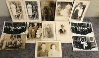 Lot Of Real Photo Postcards RPPC