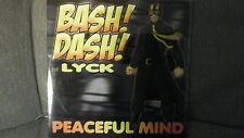 BASH! DASH! FEAT.  LYCK - PEACEFUL MIND. CD SINGOLO 5 TRACKS