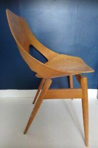 Carl Jacobs - Kandya 621 Mid Century Modern Bent Plywood Jason Chair