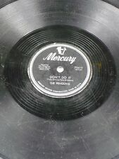 MERCURY 70610 Penguins DON'T DO IT/BE MINE OR BE A FOOL 10 inch 78 V-