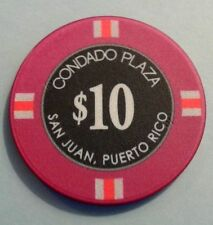 $10 CONDADO PLAZA Hotel Casino maybe Tournament Chip SAN JUAN Puerto Rico CPZ CC
