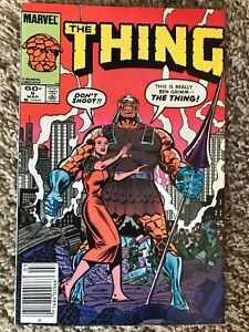 The THING #9 (Marvel, March 1984) NM- (9.2)