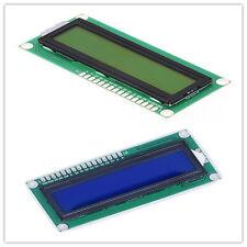 2pcs 1602 Display Character LCD Module 16x2 HD44780 Controller Blue + Yellow