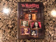 The Munsters Family Portrait New Sealed Dvd! TV Horror Comedy! Monster Mash