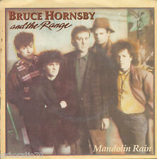 BRUCE HORNSBY and THE RANGE Mandolin Rain / The Red Plains 45 P/S