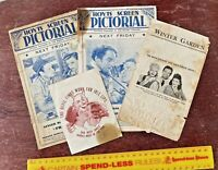 VINTAGE 1930s-40s HOYTS ETC AUSTRALIAN MOVIE THEATRE HERALD FLYERS BIG LOT +++!