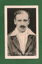 PERCY FENDER Surrey Cricket Club Captain  ENGLAND Ashes Test 1922 card