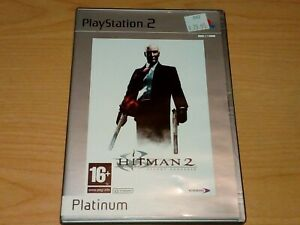 HITMAN 2 SILENT ASSASSIN PS2 PLAYSTATION 2 GAME COMPLETE.