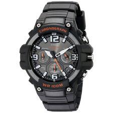 Casio Wrist Watch Mens Sports Chrono Analog Black Neo Display Casual MCW100H/1AV