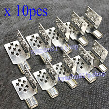 10pcs Clamp Connector F Carbon Heating Electric Film Warm Flooring Copper Plated
