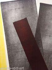 Hans Hartung Affiche Originale Lithographique de 1977 garantie 40ans 75x56cm
