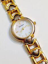 Elgin Ladies Designer Mother Of Pearl Good Condition Working Quartz Watch