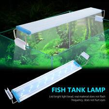 aquarium led bracket plant grow light fish tank lighting lamp bar blue white 67