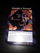 "ILLUMINATI CARDS  ""New World Order""~ Enough is Enough~ Donald Trump"