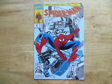 1992 VINTAGE SPIDER-MAN # 28 SIGNED 2X DON MCGREGOR & KEITH WILLIAMS, WITH POA