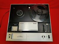 Vintage Sony TC-355 4-Track Stereophonic Reel To Reel, Japan, read description