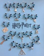 Harry Potter Themed Wine Glass Charms Box Set