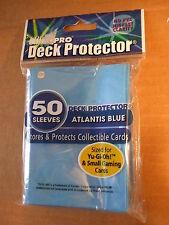 Ultra Pro Yu-Gi-Oh yugioh Deck Protector Sleeves 50ct. Atlantic Blue