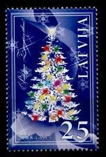 Weihnachten. Weihnachtsbaum. 1W. Lettland 2008
