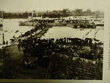 Stereoview Stereoscope Card Civil War Gem: Port Royal, Va. Union Troops Reprint