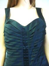 Calvin Klein Cocktail Dress Black Night Club  Sz 8 Designer Fashion Chic Satin