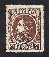Venezuela Stamp- Scott # 72/A10-50c-Mint./LH-1880
