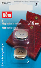 PRYM MAGNETIC snap 19mm ANT. OTTONE 1pc