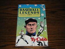 TY COBB - Baseball Legends Comic Book!!  RARE!  Tigers
