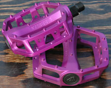 "Purple Platform Bike Pedals 9/16"" Fixed Gear Track BMX MTB Cruiser Fixie Bicycle"