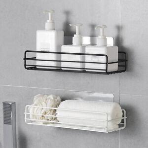 Bathroom shelf Corner Storage Rack Organizer Shower Wall Shelf Adhesive Kitchen