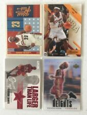 LeBron James Not Autographed Basketball Trading Cards Lot