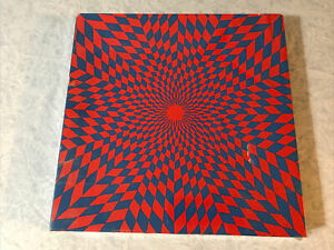 Springbok Jigsaw Puzzle Ambiguous Corolla Claudia Carrel Vintage 1967 New