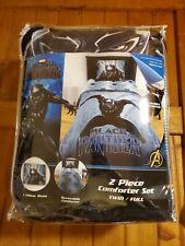 Black Panther MicroFiber Reversible Twin Comforter (Super Soft!)