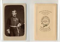 Walery, Paris, officier, soldat, militaire, décoré 4 médailles, à identifier CDV