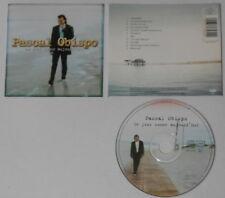 Pascal Obispo  Un Jour Comme Aujourd'hui  France cd  hard-to-find