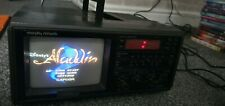 More details for vintage morphy richards ct869 portable tv & radio - great for retro gaming