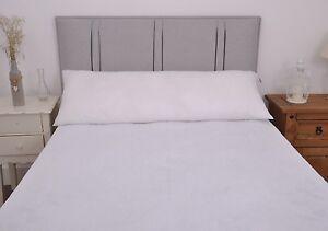 """Bolster Pillows Soft Support  Satin Stripe Pregnancy Pillows 3ft,4ft6"""",5ft & 6ft"""